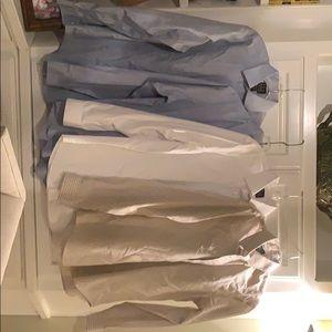 4 men's 15½x34/35 jos.A Bank  dress shirts